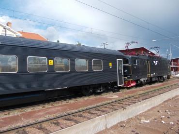 Zug nach Stockholm