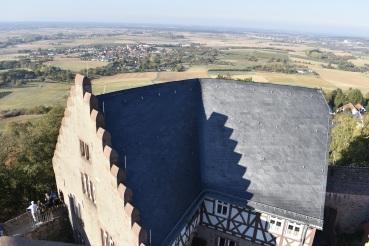 Veste Otzberg Blick von oben