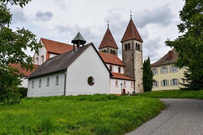 Die Basilika St. Peter und Paul auf der Insel Reichenau